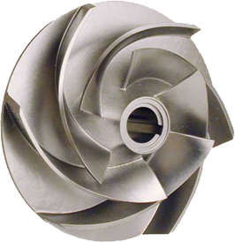 Oil and Gas Parts, Oil and Gas Parts Suppliers, Oil and Gas Parts Suppliers in India, Pump Impeller Investment Casting